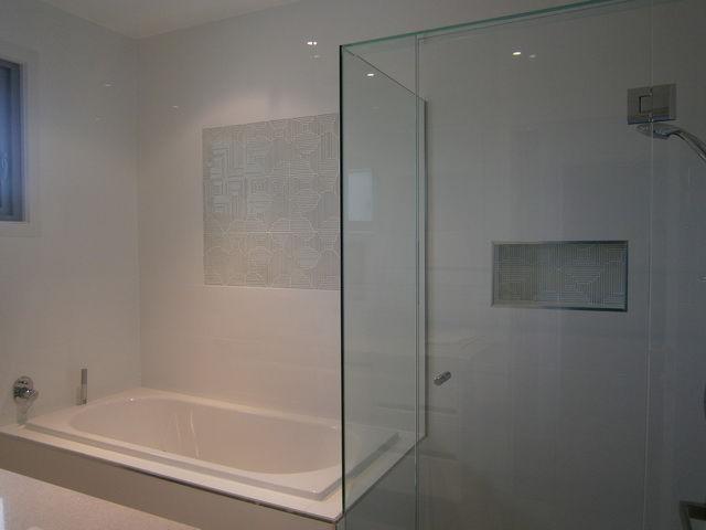 Model Black Amp White Bathroom Tiles  Melbourne  Luscombe Tiles